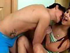 Playful teen introduced to hard my friends milf sex