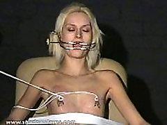 Extreme needle tortures and hardcore obera misiones caseras of blonde slavegirl in severe nipple