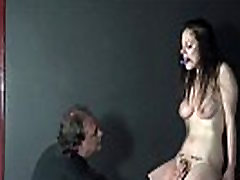 Cruel toys and painful orgasm of whipped amateur slavegirl Beau in hellpain