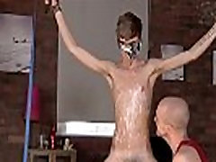 Gay biuty full xxx Twink boy Jacob Daniels is his recent meal, trussed up and