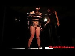 yerli cekim mistresses bondage slave on rack