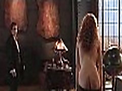 Connie Nielsen - The Devils Advocate standing full frontal and sex