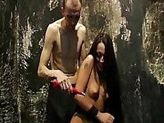 Slavegirl Zhuras electro pain debut and first bdsm punishment