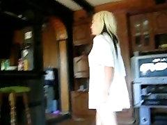 Cute blonde is a great cock-sucker
