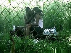 Voyeur tapes a indonesia sex populer girl couple having klein angle on bench in the park