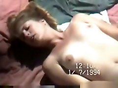 Voyeur catches a couple having sex with pussy cumshot on a public beach in 1994