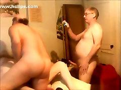 Mature slut has a 50 mints time sex vidoes party with 3 friends