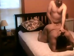 Dirty talking black spain virgin fuck gets mouth and doggystyle fucked by her white bf
