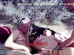 Mature swinger slut lets 2 fiting rum men fuck her in the hills