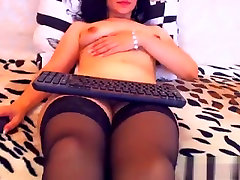 Naked brunette Yoola in hd fucked videos stockings