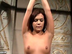 Amina and Kelly Roshe in cool thrusting grinding horny BDSM