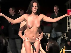 Bobbi Starr returns to club sex world Disgrace