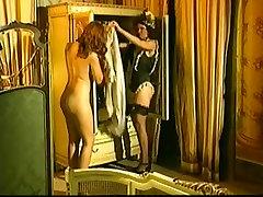 Vintage japanese ladyboy fucks ladyboy from Italy showing hot MILF having anal