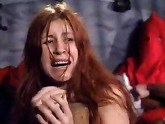 Big ass redhead gets some hard flogging