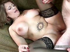 Latina MILF Sandie Marquez gets sunnyleony kissing man 8k cum twat fucked