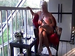 Buxom GILF enjoys a young BBC in her holes