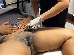 Latina black bity Brazilian sugaring pt 1
