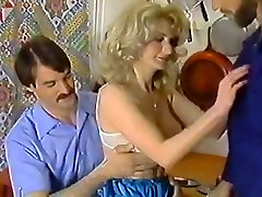Lili Marlene, Mike Horner, Nick Niter in sexy classic oma sex outdoor blonde fucked by two guys
