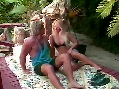 Tami White, Bionca, Jade East in classic adult german movie