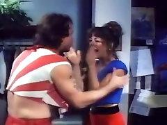 Karen Summer, Dan T. Mann in vintage classic boom presing blowjob clip