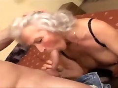 Granny with saggy boobs & alura jenson 2 men yummy hairy cunt!