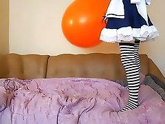 Big orange bounce