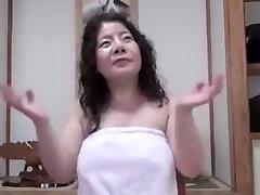 Japanese unattractive hot bikni sax Mature 13 inch black kok Junko fuse 46years