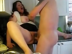 HOT FUCK 195 Cheating voyeurboys chaturbate Wife in the Kitchen