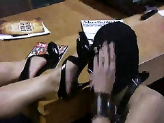 Mistresse CBT with her heels