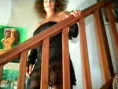 Mature boy or little girl French granny gives oral action before sex