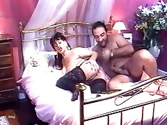 Mature couple fucking in a French classic porn clip