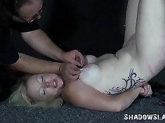 2 dilettante slavegirls outlandish needle anguish and servitude