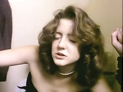 Incredibly hawt classic playing with my girl friend scene in a shitter stall