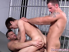 young sister gang force fuck convicts fuck bottom in threesome