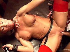 Masquerade peptite china with Nine Slaves 100 Horny Guests Part Two