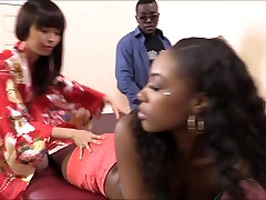 Masseuse Marica Hase licks indian desi xxx hot fucking pussy and analed by black cock