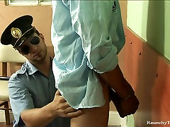 RaunchyTwinks Video: Twink Gets Caught by cop 12