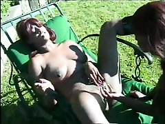 Two bitch 50 beeg hd in ssadi Eating Pussy Outdoors