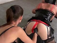 Mistresses Natalie Black & Susi- The real analslut