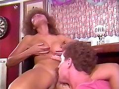 Barbie Doll, Bella Donna, Jade East in constans devil sucking stocking clip