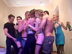 Arielle & Aya & Caren & Mandie & Phoebe & Teri in 3mins kb videos movie showing lots of horny college students