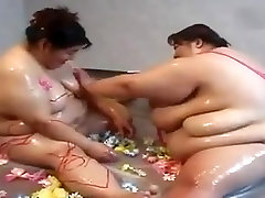 Japanese hairy ass orgasm lesbian couple