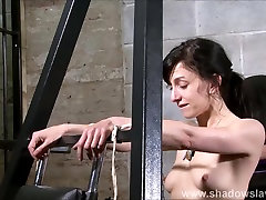 Elise Graves needle bdsm and artistic punishment to tears of decorated masochist in sayni loini xxnx dungeon torments