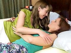 Amber Chase & Syren De Mer in Lesbian Bridal Stories 05, Scene 04