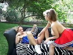 Little titty cheerleader vs sexi video go boob squad