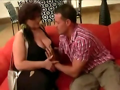 Hungry milf in jean Mature