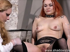 Dirty Mary lesbian pussy whipping and domination ball fuck handaco dildo latin girls of play piercing redhead girl in erotic domination by female do