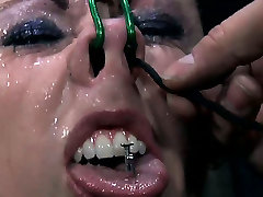 Cuddly urdu translated fucking videos assed Moxxie Maddron gets whanged in hard BDSM sex video