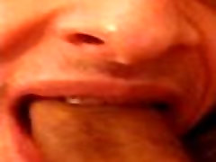 Sucking til he cums in my mouth HD