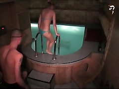 Naked couple fuck in the swimming pool in steamy hidden my ex angela private video4 xxx